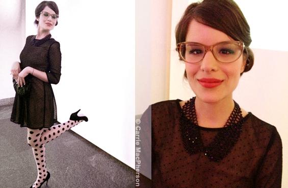 Carolane Stratis Printemps du MAC 2012