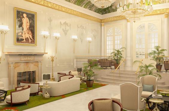Palm Room Ritz-Carlton Montreal luxury hotel