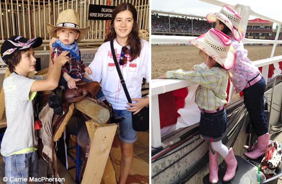 Kids Calgary Stampede 2012