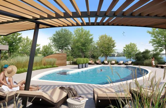 Evolo S pool