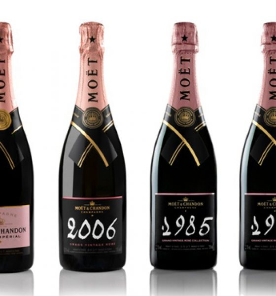 La collection de rosés de Moët & Chandon