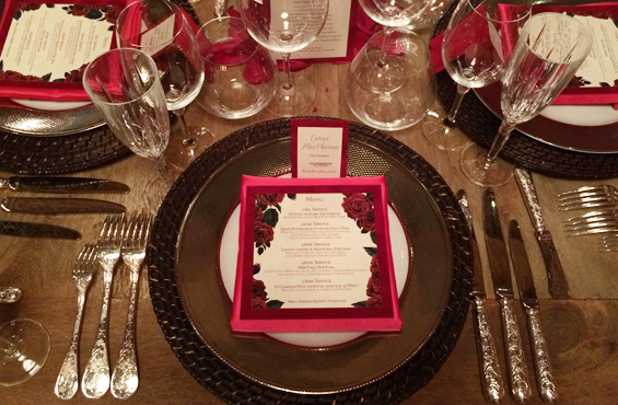 Bridal Boudoir media dinner 40 West
