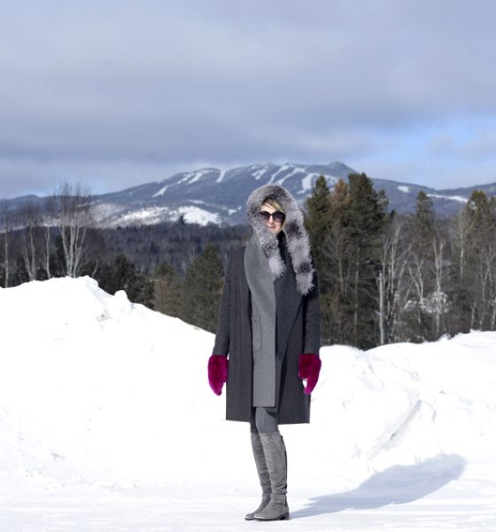 What I wore to Snow Polo Tremblant