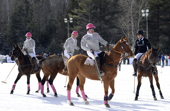 Snow Polo Team Holt Renfrew