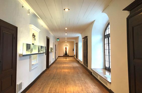 Monastere des Augustines hallway