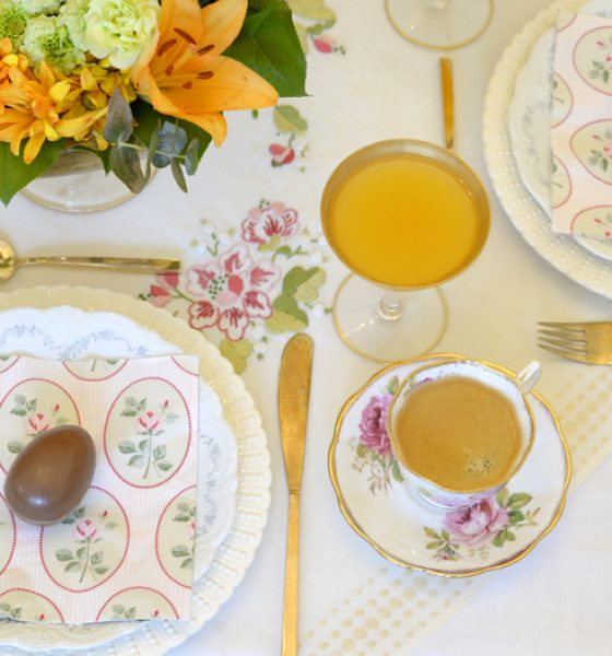 Simple tips for hosting a fancy Easter brunch