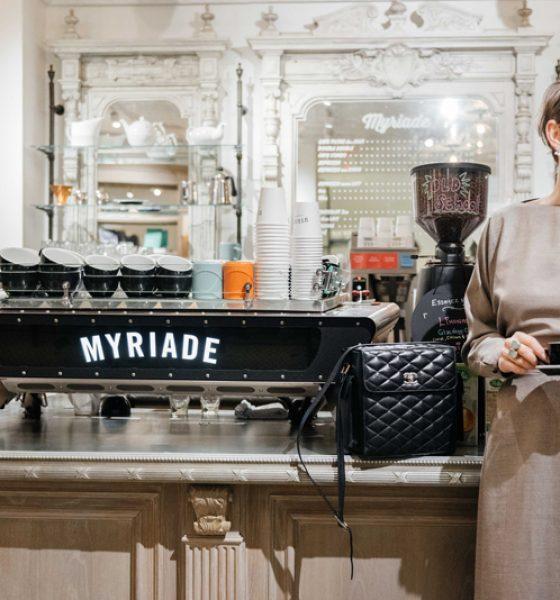 Le Café Myriade au Club Monaco