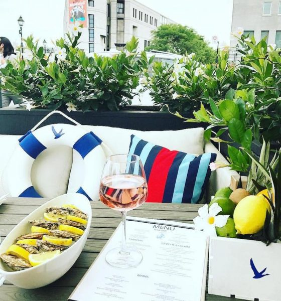 A Grey Goose summer terrace at Sea Salt & Ceviche