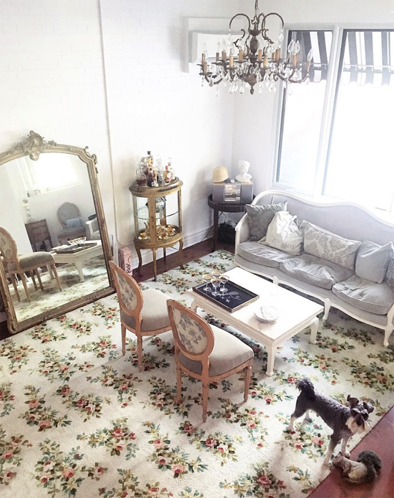 Living Room Dining Room Makeover With Urban Barn Eat Drink Be Carrie