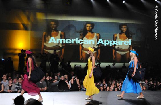 American Apparel Fashion Jam 2012
