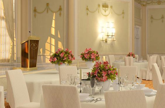 Oval ballroom Ritz-Carlton Montreal