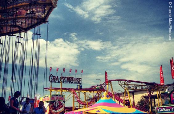 Amusement park Calgary Stampede