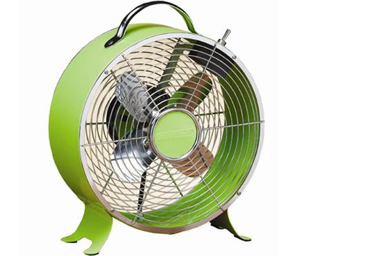 retro electric fan deco