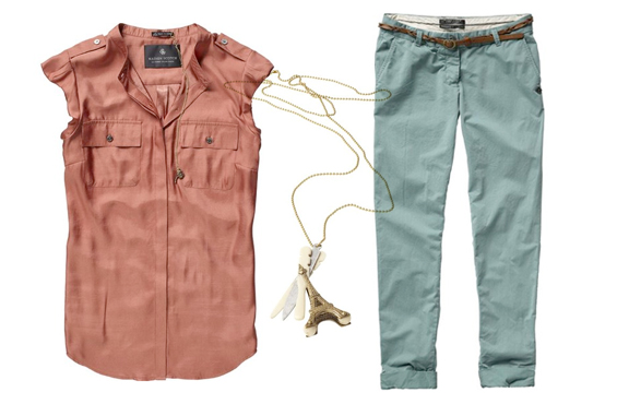 Scotch and Soda pants and top