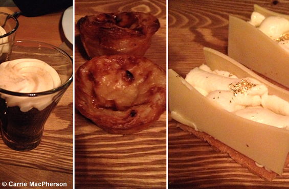 La Cabane desserts