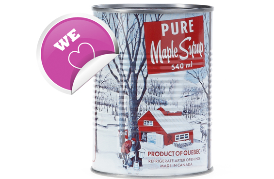 Quebec maple syrup
