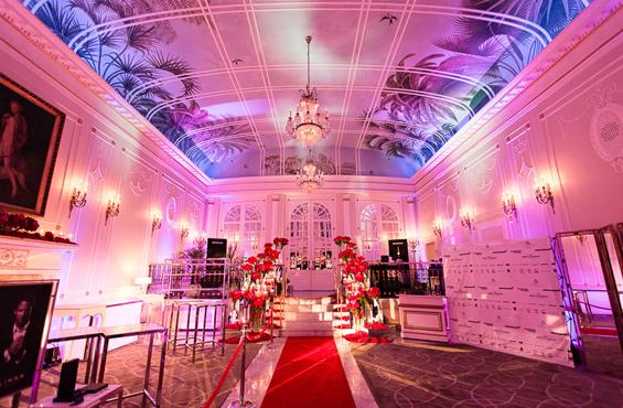 Palm court room Ritz Montreal
