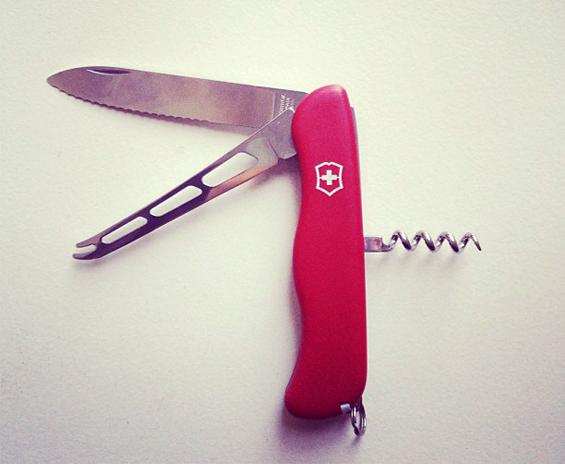 Victorinox cheese knife zurbaines