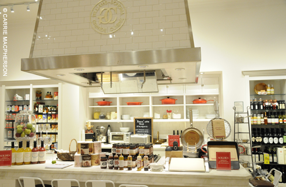 Williams Sonoma cooking class