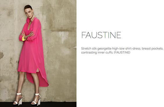 Marie Saint Pierre Faustine dress