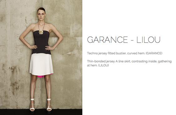 Marie Saint Pierre skirt