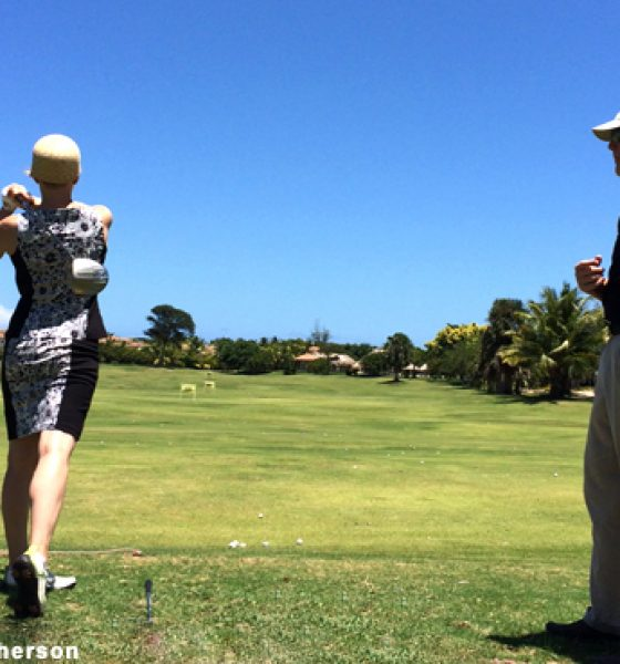 Golfing in the Dominican
