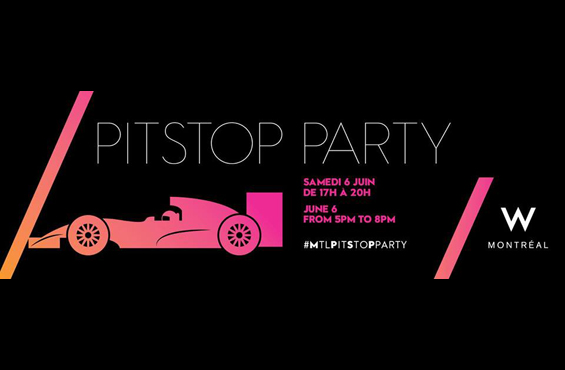 W Montreal Pitstop Party