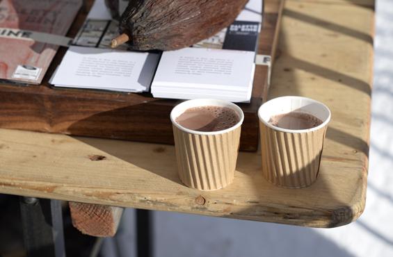 Palette de bine hot chocolate