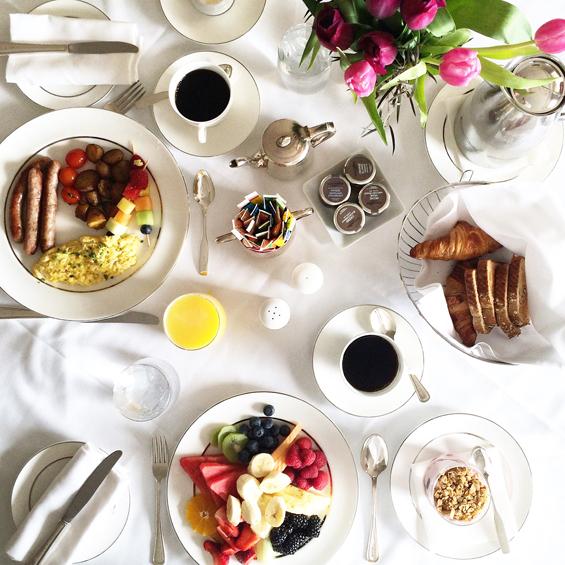 Ritz-Carlton Montreal Room Service