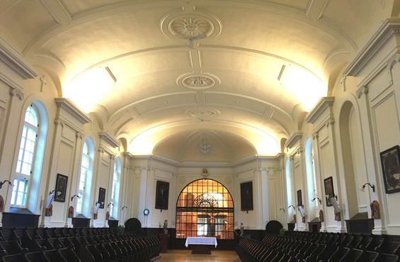 Monastere des Augustines La chapelle