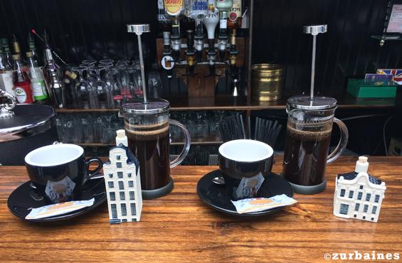 Canal Lounge coffee