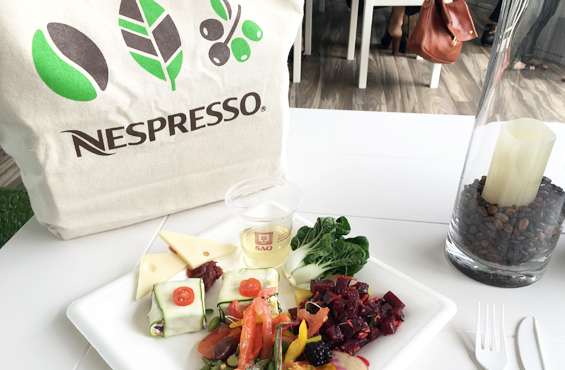 Nespresso Rogers Cup lunch