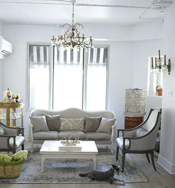 Living Room – Dining Room Makeover with Urban Barn
