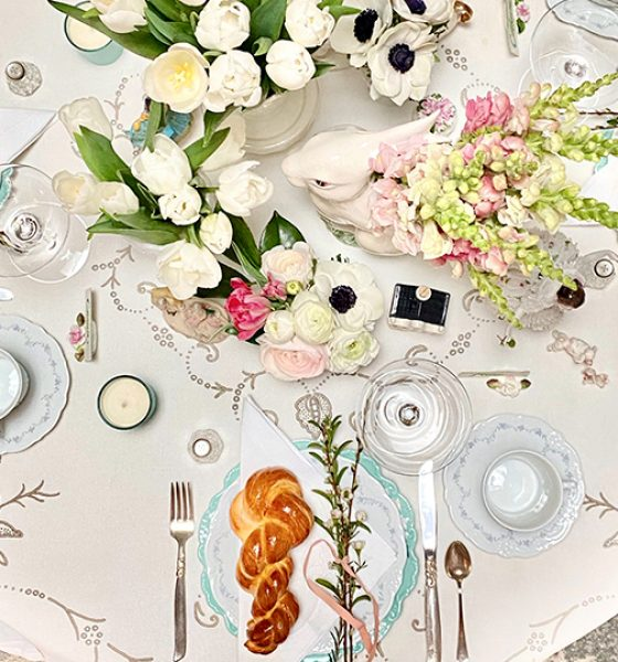 (English) How To Elegantly Decorate Your Table For Easter